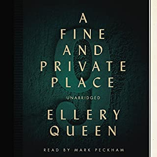 A Fine and Private Place audiobook cover art