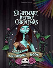 The Nightmare Before Christmas Coloring Book: Coloring Book For Kids Ages 4-12