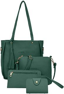New Fashion Trend Women's Backpack Leisure Shoulder Bag Handbag Wallet Card Pocket