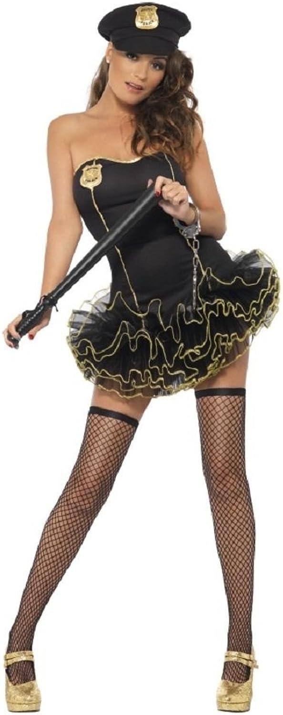 Smiffys Kostüm Karneval Damen Anzug Polizistin Tutu 'Dress 20043, Mehrfarbig XS B01AS1YV3W Billig  | Erschwinglich