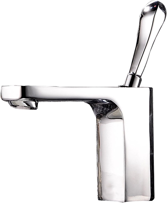 Einloch-Hahn-heies und kaltes Badezimmer-Waschbecken-Mischventil-europische ffnung ist 33MM zu 40MM kann installiert werden