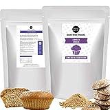 MITOBACK - Backmischung Lebkuchenküchlein: Low Carb Lebkuchen Küchlein glutenfrei - Protein Muffin Baking...
