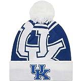 Kentucky Wildcats New Era Logo Whiz 2Cuffed Pomニットビーニー帽子/キャップ