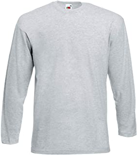 Fruit of the Loom - Langarmshirt Valueweight Longsleeve T