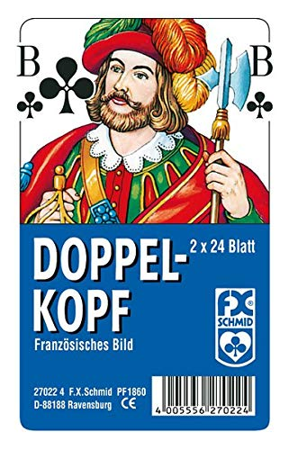 Ravensburger Spielkarten 27022 - Doppelkopf, Französisches Bild