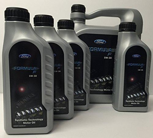 x 5 x 1 1 litri di olio Compatibile FORD LONGLIFE FORMULA F 5W30 WSS M2C913,-- C (cercate WSS-M2C913-A WSS-M2C913 ACEA-A5 B) B /