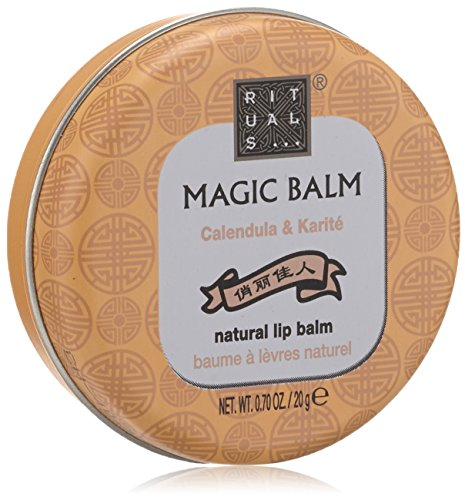 RITUALS Magic Balm natural Lippenbalsam, Calendula und Karité 1er Pack (1 x 20 g)