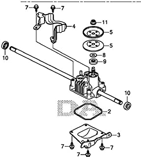 Honda 20001-VL0-S00 ( replaces 20001-VL0-P00) Transmission Assembly; Made by Honda