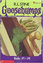 Goosebumps Boxed Set, Books 1 - 4: Welcome to Dead House, Stay Out of the Basement, Monster Blood, and Say Cheese and Die!