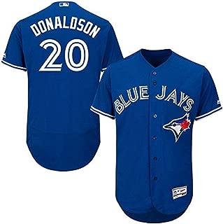 Outerstuff Josh Donaldson Toronto Blue Jays MLB Majestic Youth 8-20 Blue Alternate Cool Base Replica Jersey