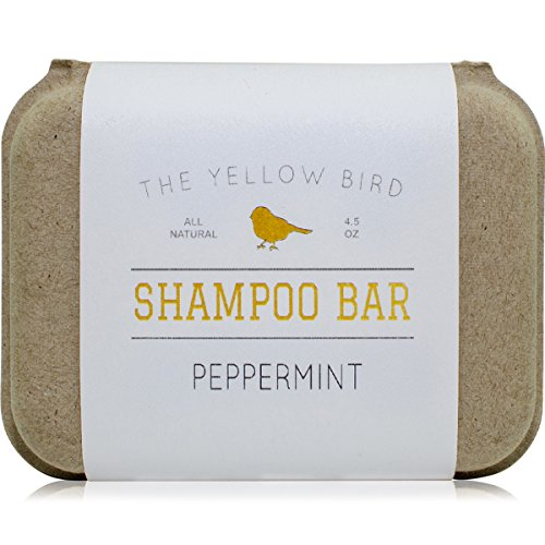 Peppermint Shampoo Bar Soap. Sulfate Free. Natural and Organic Ingredients. Anti Dandruff, Itchy...