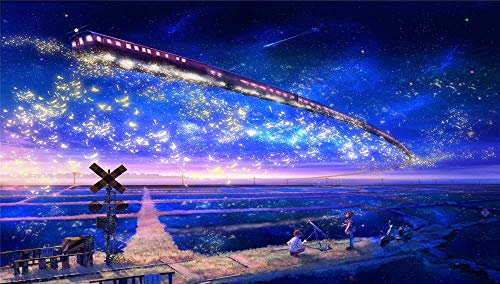 Jigsaws Puzzel,Puzzels Sterren Treinen Telescoop Jongens Skyscapes Meisjes,Diy Houten Puzzle 1000 Stukjes,Legpuzzels Voor Volwassen Kinderspeelgoed (75 * 50 Cm)
