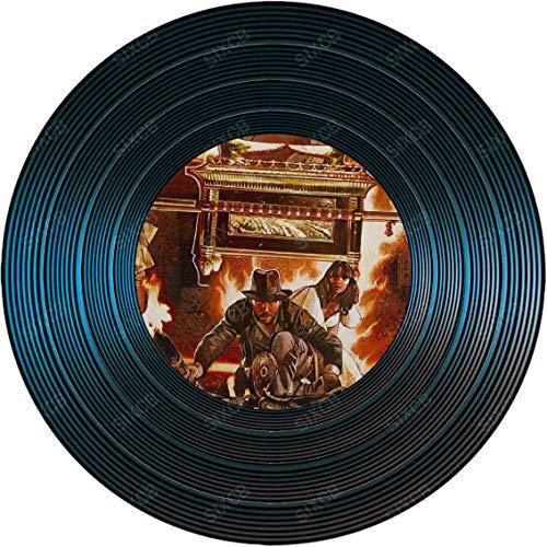 SALWON Raiders of The Lost ark Blechschild Metallschild Runde Eisenplatte Retro Nostalgic Bar Kaffee Kreativer Industriestil Exquisite Hintergrundwanddekoration