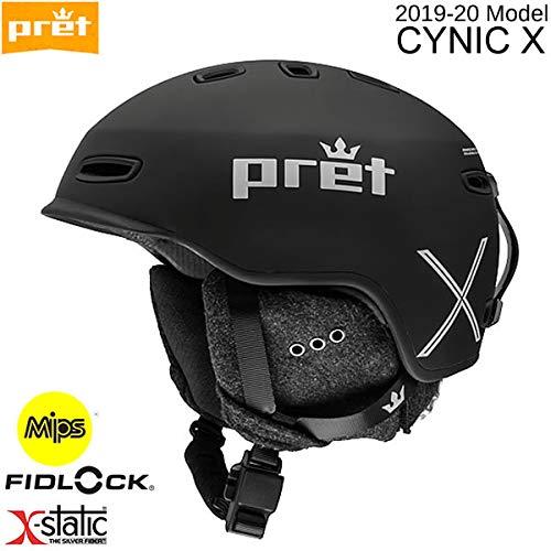 pret(プレット)スキーヘルメットPRET2020CYNICXシニックエックスTeamBlackMips搭載19-20プレットスノーヘルメット【C1】S(51~55cm)