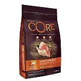 Wellness CORE Original / Hundefutter Trocken / Getreidefrei / Hoher Fleischanteil / Pute mit Huhn, 10 kg