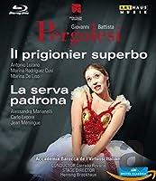 Pergolesi: Il Prigionier Superbo & La Serva Padrona [Blu-ray] [Import]