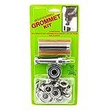 C.S. Osborne Set-It-Yourself Grommet Kit K231-4, 1/2' Hole, W/Nickel Grommets