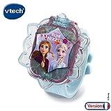 VTech - Reine des Neiges 2 - La montre-jeu interactive d'Elsa - montre enfant éducative
