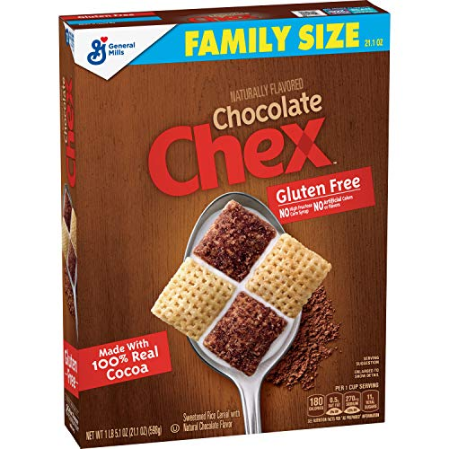 Chex Cereal, Chocolate, Gluten Free, 21.1 oz