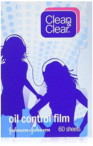 Clean & Clear Film De Contrôle D'Huile Clean & Clear Absorbant L'Huile 60 Feuilles (Pack De 3)