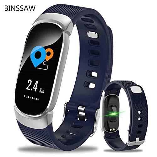 YLBHD Smart Uhr Frauen wasserdichte Uhr Herz Rate Schlaf Monitor Informationen Rufen Erinnerung Smart Sport Uhr