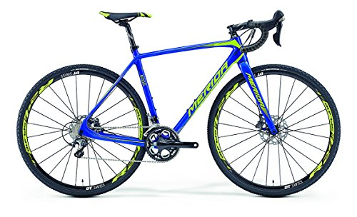 Merida Cyclo Cross 6000 blau/lime Rahmengröße 56 cm 2016 Cyclocrosser