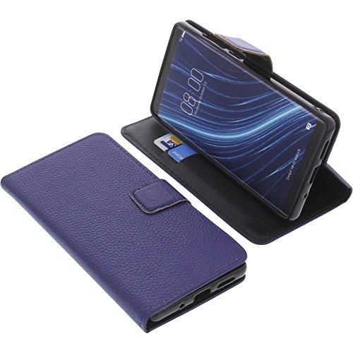 foto-kontor Tasche für Archos Diamond Omega Book Style blau Schutz Hülle Buch