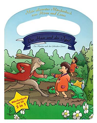 Mein allerliebstes Märchenbuch Der Hase und der Igel mit Tragegriff und Audio CD