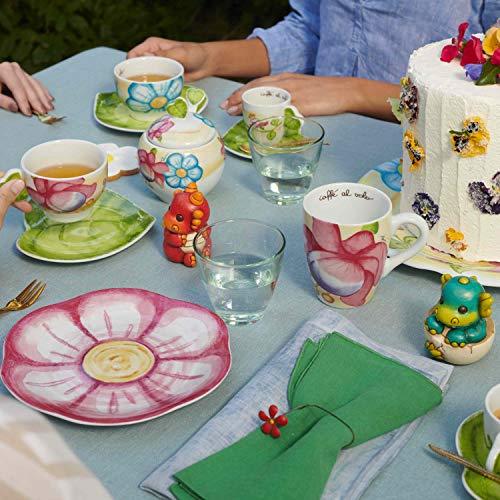 THUN ® - Mug Linea Cerimonia fantasticaper tè, caffè, tisana - Porcellana - 300 ml - ø 8,5 cm - con Scatola in Latta