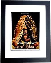John Travolta and Cuba Gooding Jr Signed - Autographed The People vs O.J. Simpson 8x10 inch Photo BLACK CUSTOM FRAME - Robert Shapiro