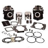 Cylinder Piston Gasket Kit for Yamaha Banshee 350 YFZ350 1987-2006 347cc 64mm 2GU-11311-00-00 2GU-11321-00-00