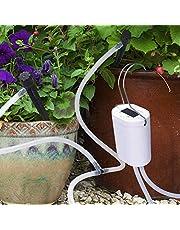 DINOKA Sistema de riego automático para vacaciones, kit de riego con manguera de 2,5 m para macetas, terrazas, jardines o plantas en maceta.