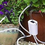 DINOKA Sistema di irrigazione fai-da-te, kit di irrigazione automatico con tubo da 8 piedi...
