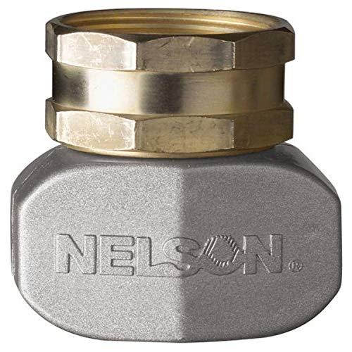 Nelson Aspersor 50521 - Reparación de manguera hembra de latón y metal de 0,63 y 0,75 pulgadas