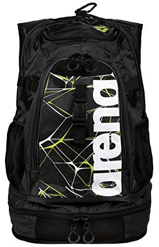 ARENA Unisex– Erwachsene Fastpack 2.1 Schwimmrucksack, Black, Default Title