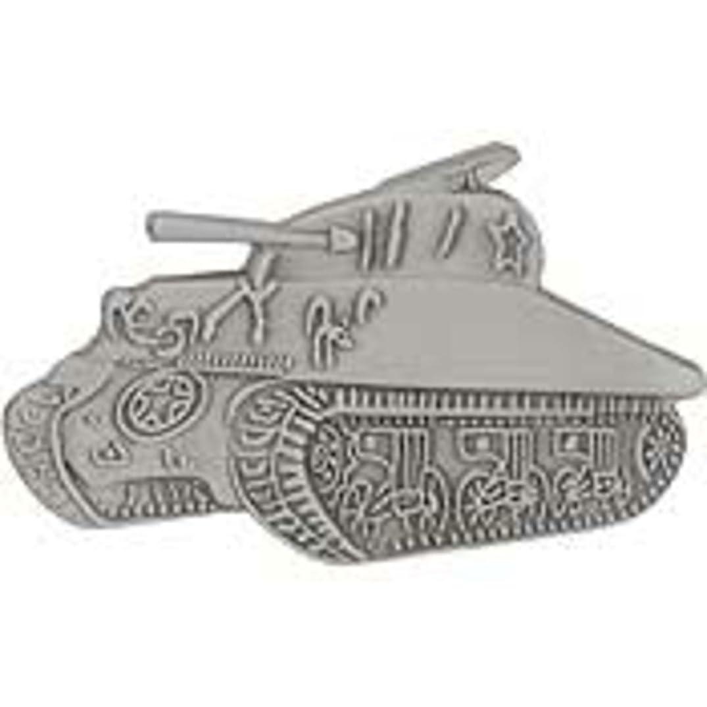EagleEmblems P14254 Pin-Tank,Sherman (1'')