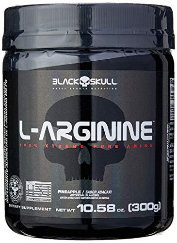 L-Arginine - 300G Abacaxi - Black Skull, Black Skull