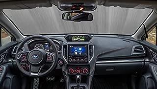 AutoHeatshield Sunshade for 2018 2019 2020 Subaru XV Crosstrek with Eyesight Sensor Custom Fit Windshield Sunshade