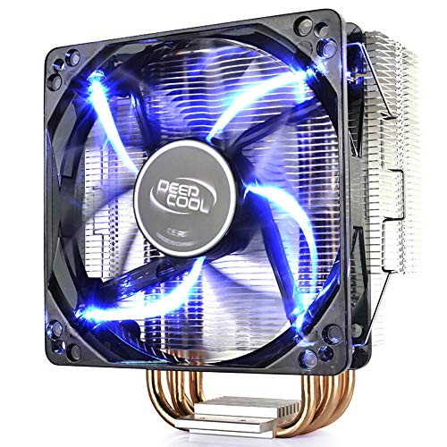 lizeyu CPU processor cooling fan pure copper 4 heat pipe cpu radiator fan intelligent speed regulation cpu fan cooling fan