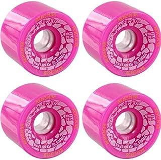 Remember Savannah Slamma Pink Longboard Skateboard Wheels - 70mm 76a (Set of 4)