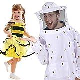 Cosplay Bee Jacket Ventilated Beekeeping Suit...
