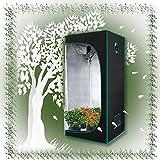 ZXD Armarios De Cultivo, Mylar Reflectante Garden 600D Tienda De Plantas, Resistente Al Agua Resistente A La Luz Cubo...