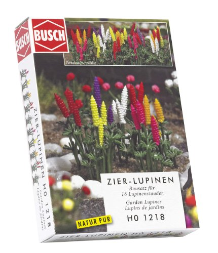 Hornby France - Busch - 1218 - Circuit - Train - Lupins de jardin
