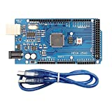 MEGA 2560 R3 ATmega2560-16AU CH340G Develope Board W/ Cable for Arduino