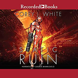 Static Ruin                   Written by:                                                                                                                                 Corey J. White                               Narrated by:                                                                                                                                 Saskia Maarleveld                      Length: 4 hrs and 20 mins     Not rated yet     Overall 0.0