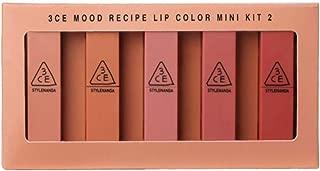 3CE Mood Recipe Lip Color Mini Kit Season 2