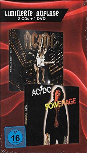 AC/DC Stiff Upper Lip + Powerage + DVD In Concert Live - Limitierte Auflage