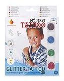 Glitterify Me Mi Primer Tatuaje – Kit de Tatuajes de Purpurina para niños – Hecho en la UE, Calidad cosmética