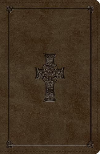 ESV Reference Bible (TruTone, Olive, Celtic Cross Design)