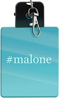 #malone - Hashtag LED Key Chain with Easy Clasp